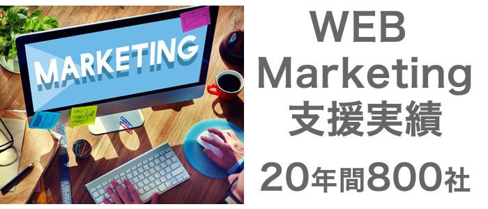 webマーケティング支援実績