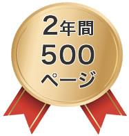 セールスライティング実績2年間500ページ